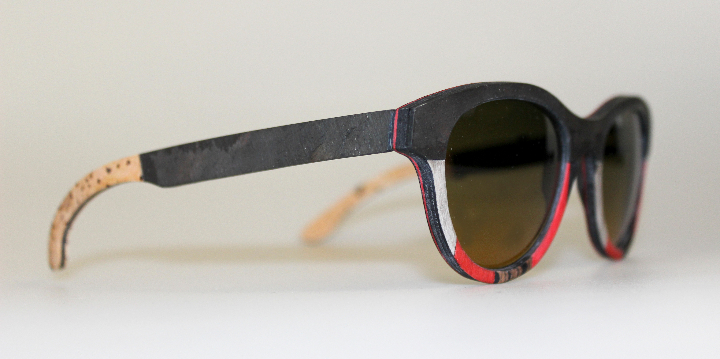 Catuma sunglasses linen wood and stone 2