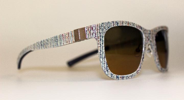Gafas de sol Catuma en madera y ropa de piedra 4