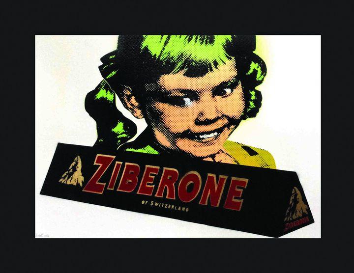 Ziberoneパンクバージョングリーン