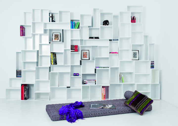 cubit white bookshelf 2