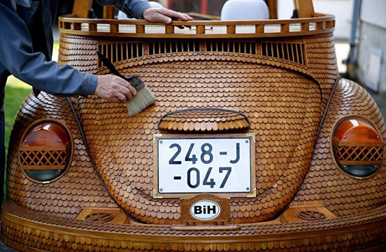 木製フォルクスワーゲン・ビートル-003