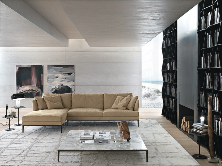 ALIVAR divano Portofino ambientato Social Design Magazine