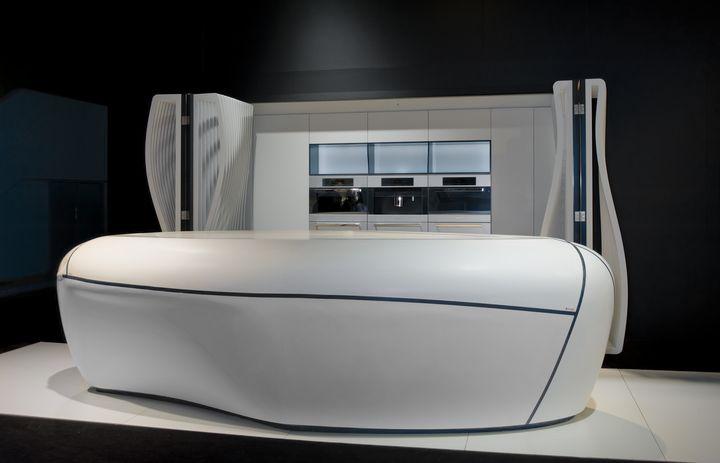 HI-Macs nan syèl se limit la Bonte 01 Design
