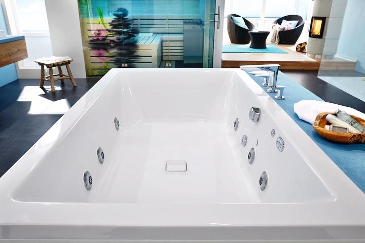 Vasca Da Bagno Kaldewei Dimensioni : Kaldewei: vasche di grandi dimensioni in acciaio smaltato social