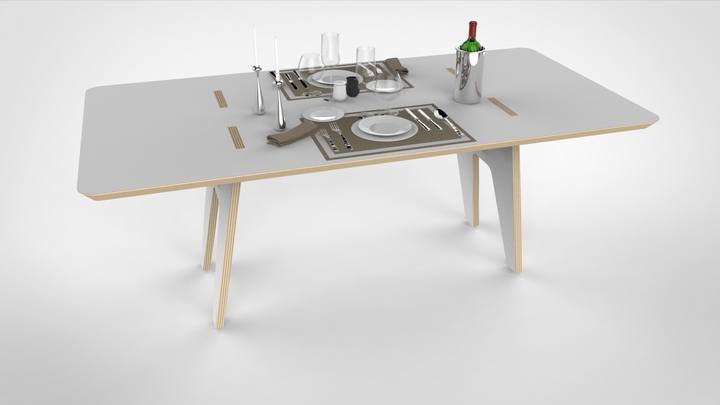 table joint by andrea casati Social Design Magazine