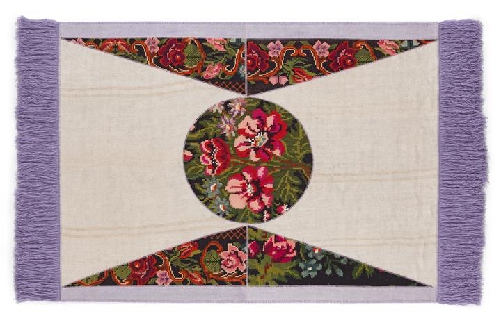 Social Design Magazine SITAP DA VINCI FLOWER LILLA 81155