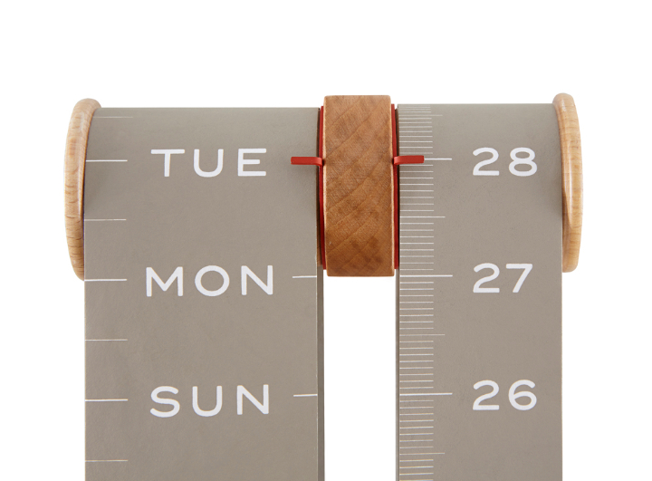Sovrappensiero estudio del diseño del calendario rollo Social Design Magazine 2