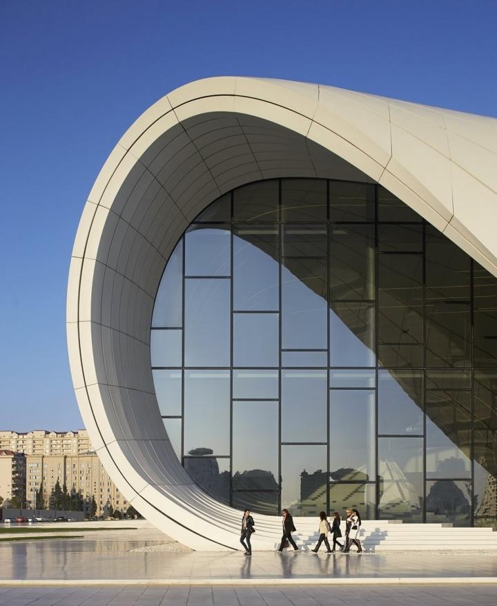 Heydar Aliyev Centro de Zaha Hadid Design Social Revista-11