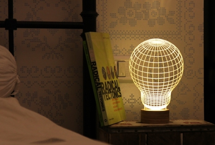 Bulbing 3d table lamp Design Magazine Social-11