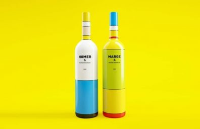 Simpsons Mondrian Wine Social Packaging Design Magazine 05
