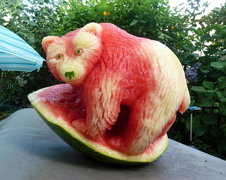 Wassermelone Kunst Firma Design-Magazin 04