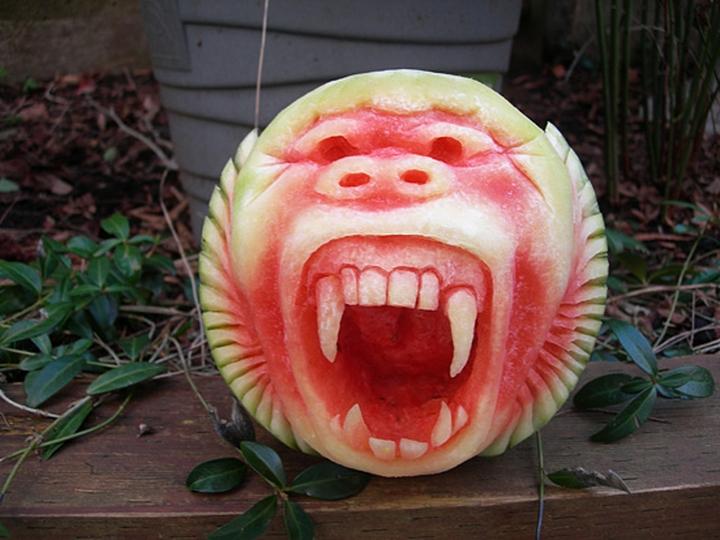 Wassermelone Kunst Firma Design-Magazin 08