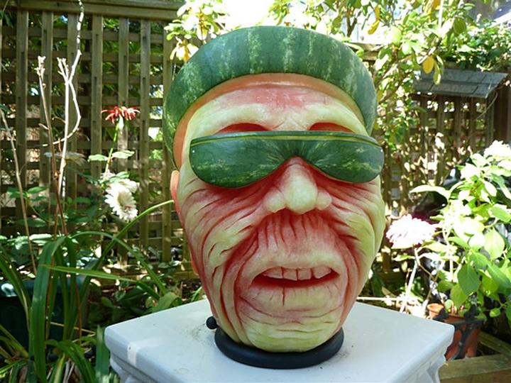 Wassermelone Kunst Firma Design-Magazin 15