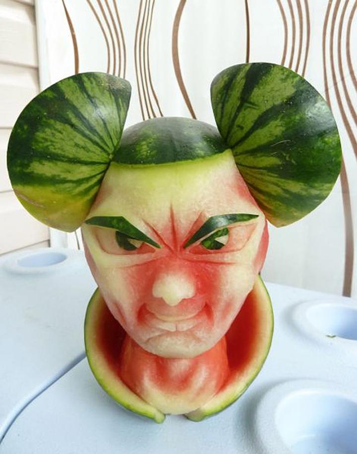Wassermelone Kunst Firma Design-Magazin 16