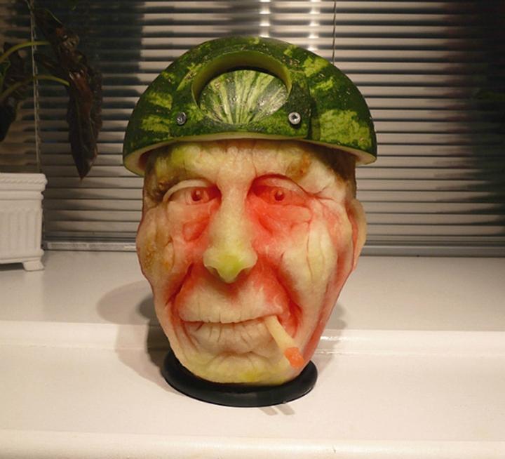 Wassermelone Kunst Firma Design-Magazin 20