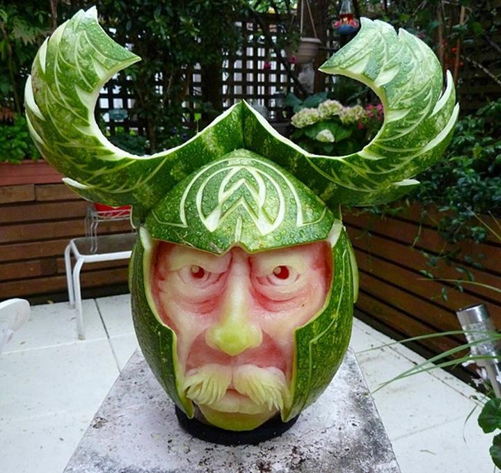 Wassermelone Kunst Firma Design-Magazin 22