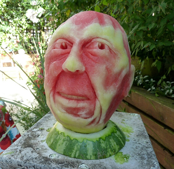 Wassermelone Kunst Firma Design-Magazin 26