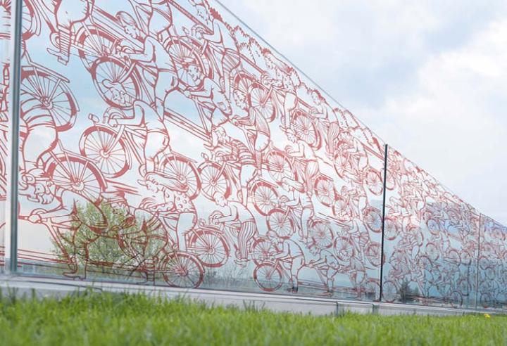 recinzioni giardino VV bicicletta 1
