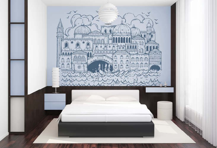 venise lit tête de lit