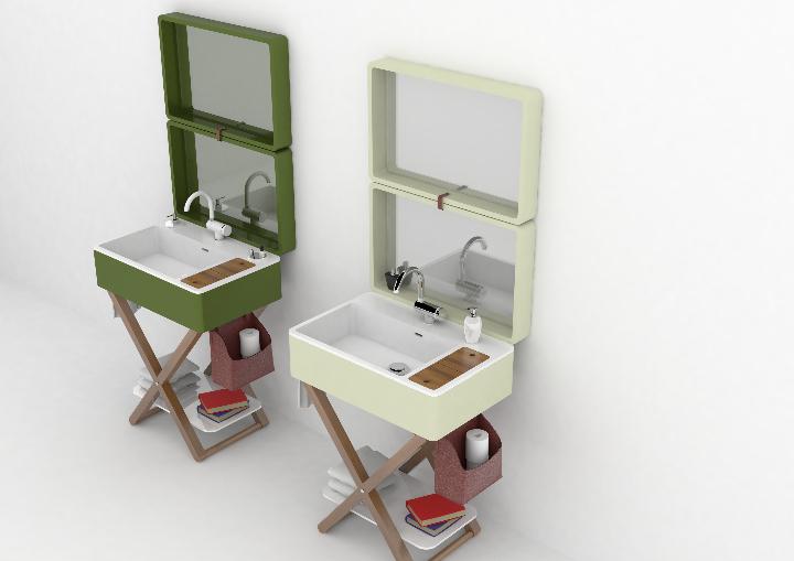 My bag il bagno pr t porter di olympia ceramica social design magazine - Il bagno magazine ...