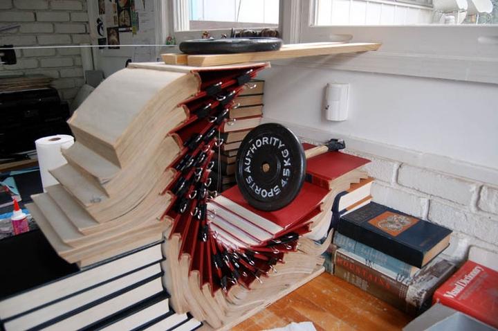 ブックアート彫刻-socialdesignmagazine12