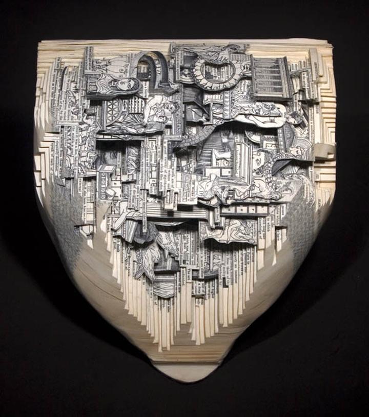 ブックアート彫刻-socialdesignmagazine14