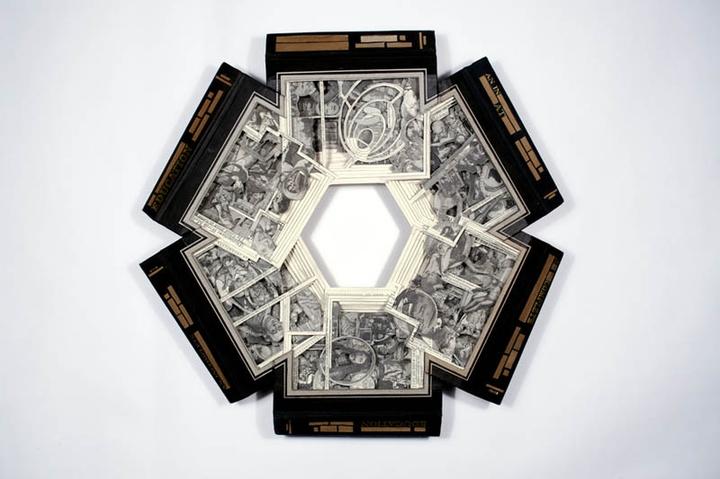 ブックアート彫刻-socialdesignmagazine17