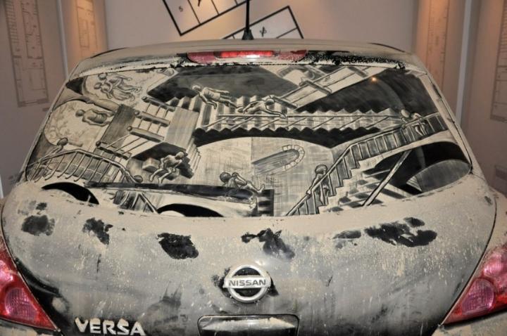 βρώμικο τέχνη αυτοκίνητο socialdesignmagazine10