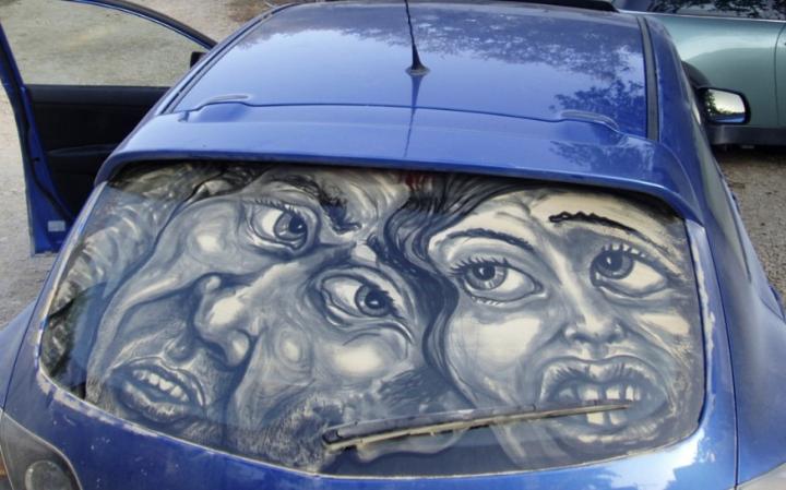 βρώμικο τέχνη αυτοκίνητο socialdesignmagazine14