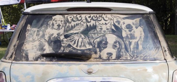 βρώμικο τέχνη αυτοκίνητο socialdesignmagazine22