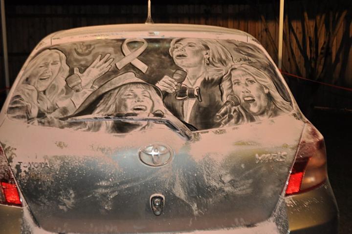 βρώμικο τέχνη αυτοκίνητο socialdesignmagazine23