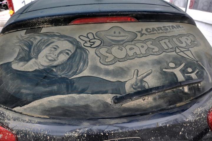 βρώμικο τέχνη αυτοκίνητο socialdesignmagazine27