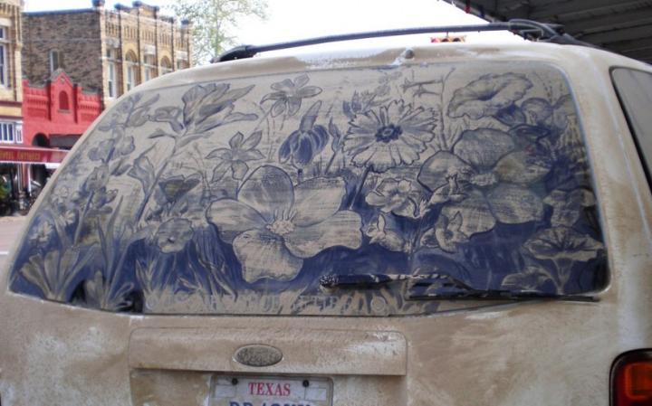βρώμικο τέχνη αυτοκίνητο socialdesignmagazine28