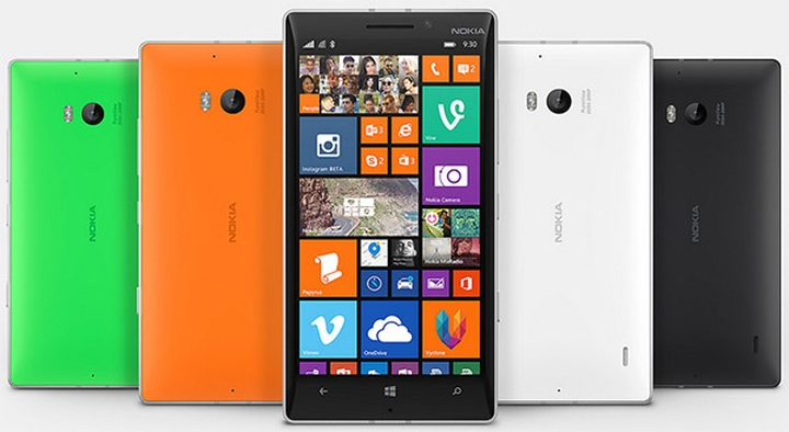 lumia 930 colors