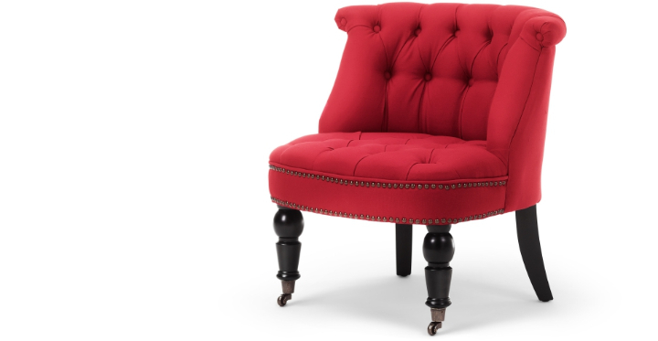 bouji chair poppy red lb1 1