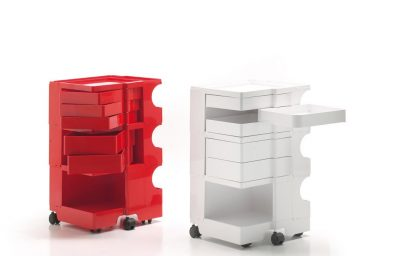 b-line-Magazin Einkaufs boby Container Firmendesign