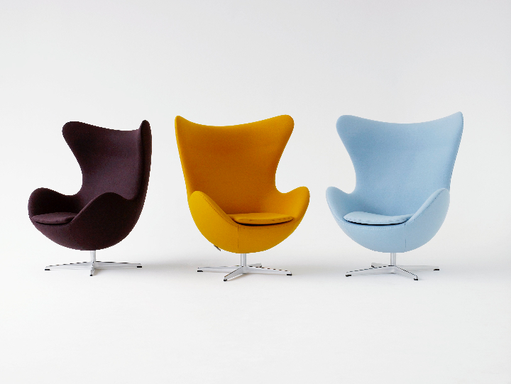 chaise EGG Arne Jacobsen Social Design Magazine