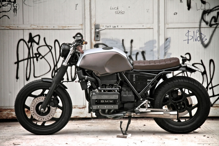 Custom BMW K 75 street tracker by Moto Sumisura social design magazine 05
