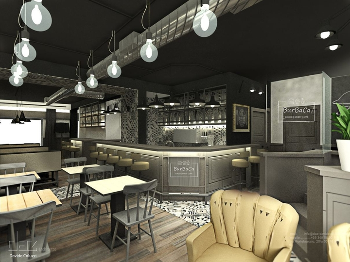 BurBaCa Burger-Bar von David Coluzzi Architekt Sozial Magazin-19 Design