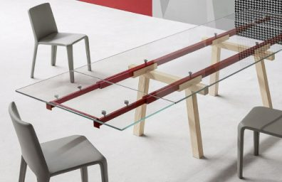 Table extendable tracks bonaldo social design magazine 002