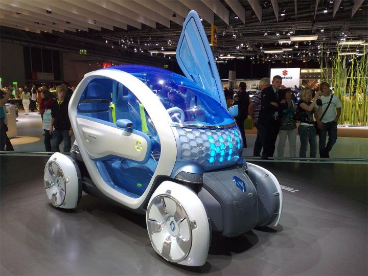 revista de diseño social Concepto Z Renault Twizy