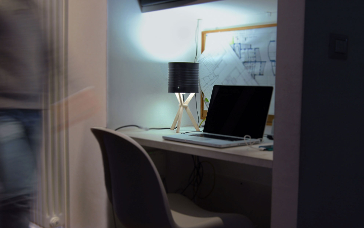 Izmade Margherita lamp Office table 01