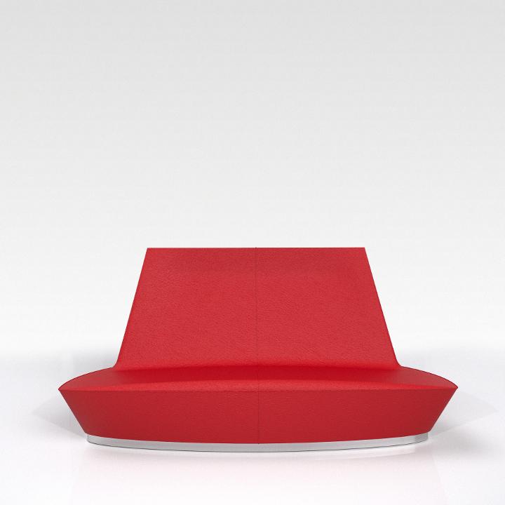 C LOUNGE 2P rossa