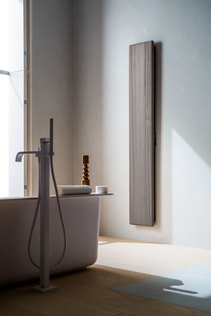 Heated towel rails Woody social design magazine