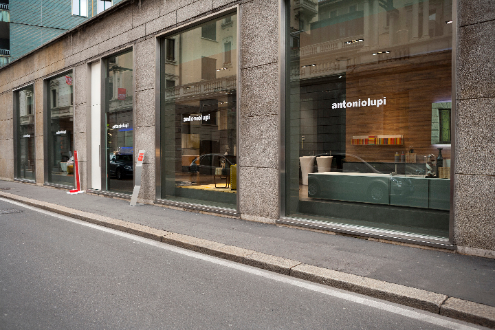 Showroom antoniolupi Milano