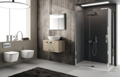 IS washbasin and shower Strada and health 21 social design magazine