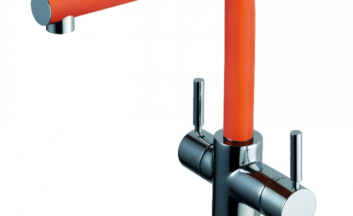 InSinkErator 3N1 kitchen tap Orange
