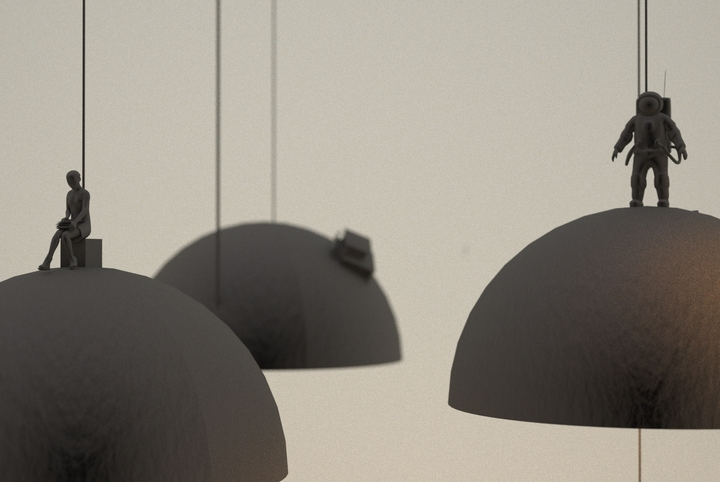 Leonardo Fortino land lamp 2