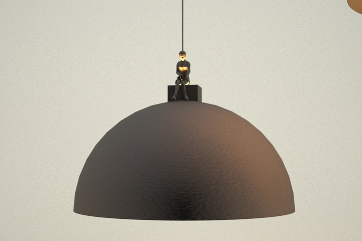 Leonardo Fortino land lamp 3