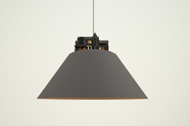 Leonardo Fortino land lamp 6